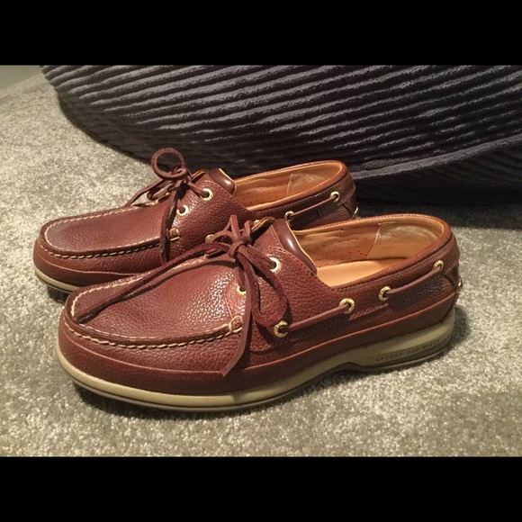6a3b8152019 Men s Sperry top sider gold cup memory foam shoes.  M 5bbe9cf81e2d2ddc77534169